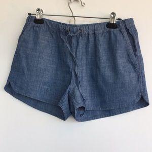 "NWT JCrew Factory chambray shorts 2.5"" inseam."
